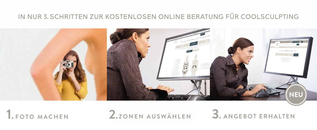 CoolSculpting online Anfrage